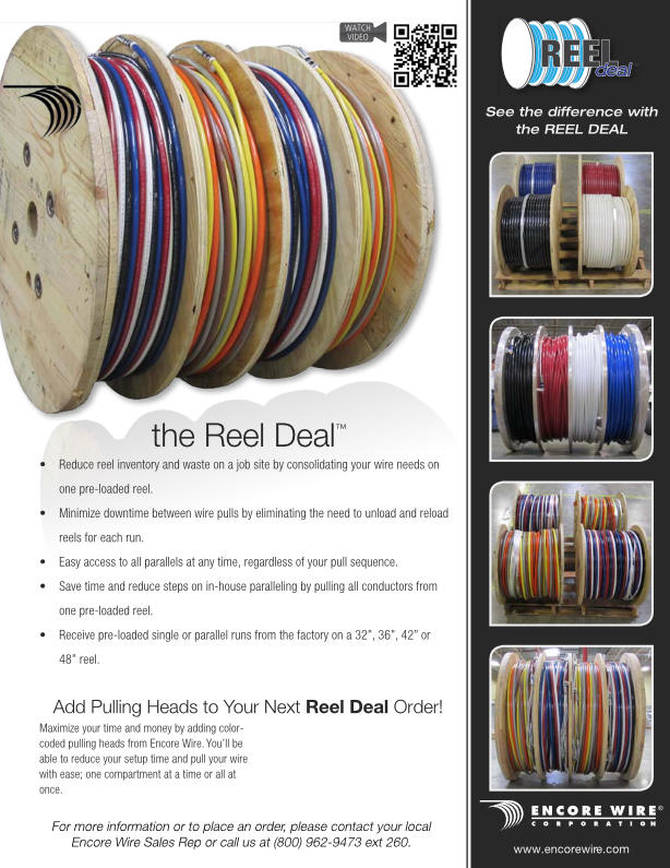 Encore Wire The Reel Deal | AJB Sales