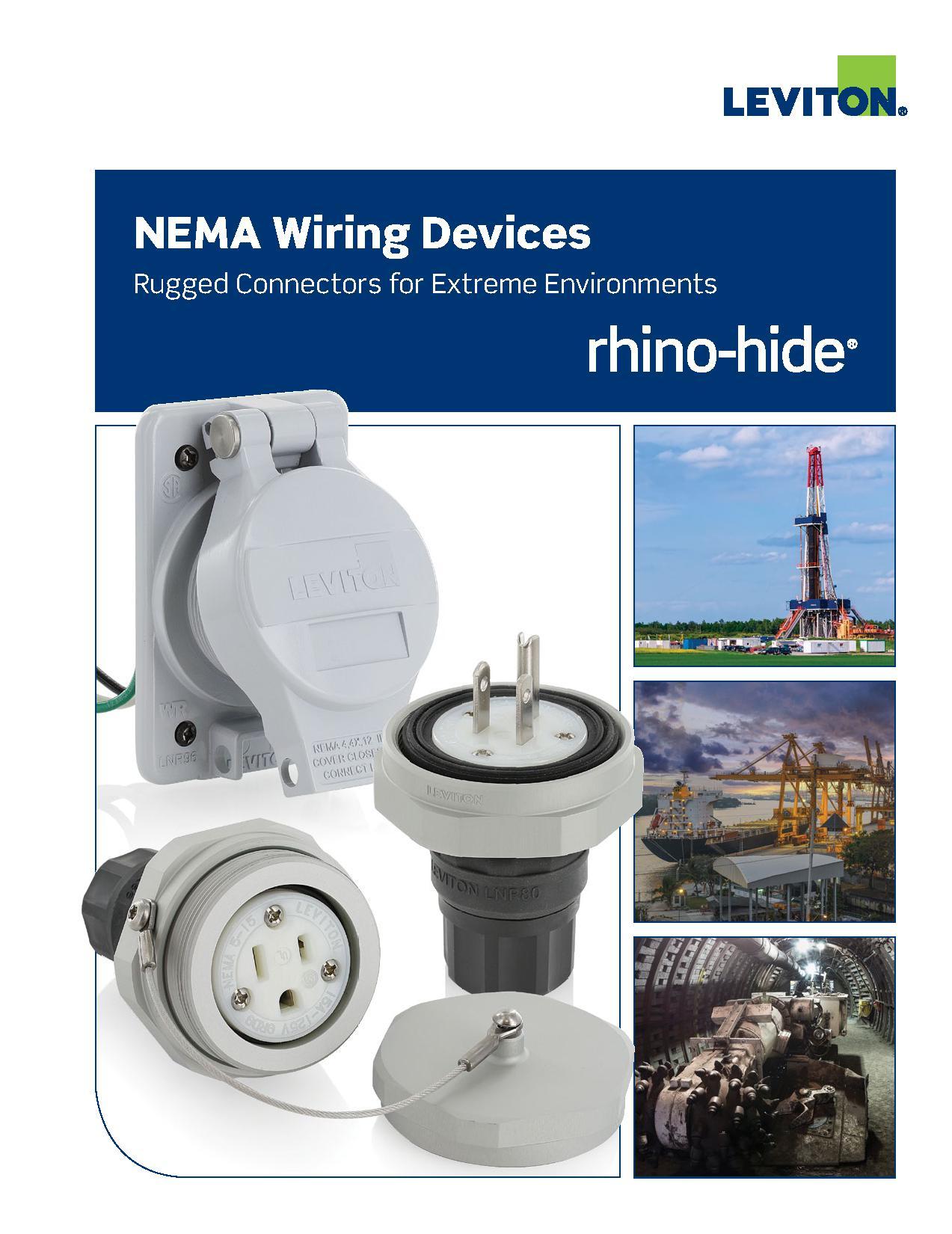 Leviton Rhino-Hide NEMA Wiring Devices   AJB Sales