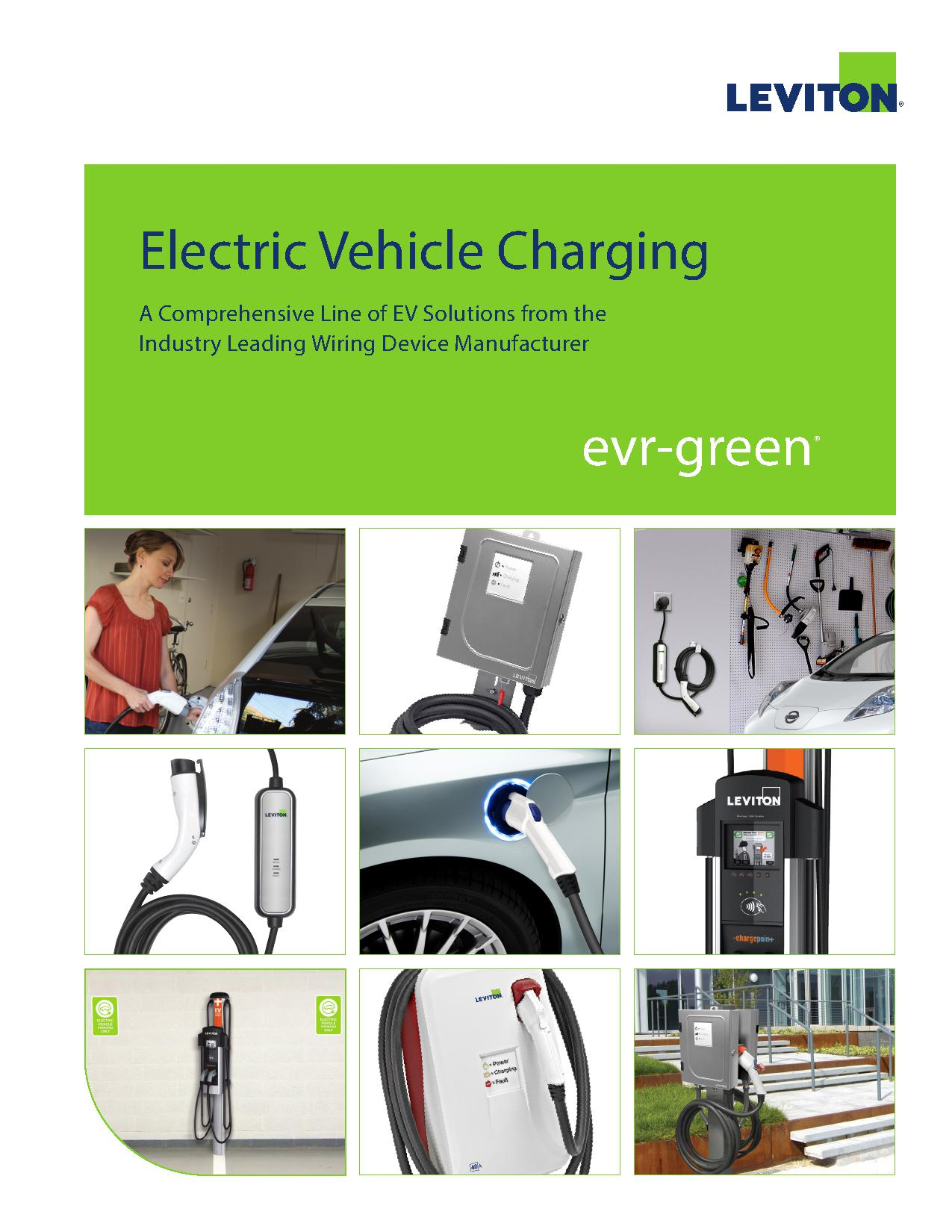 Leviton Electric Vehicle Charging Equipment | AJB Sales