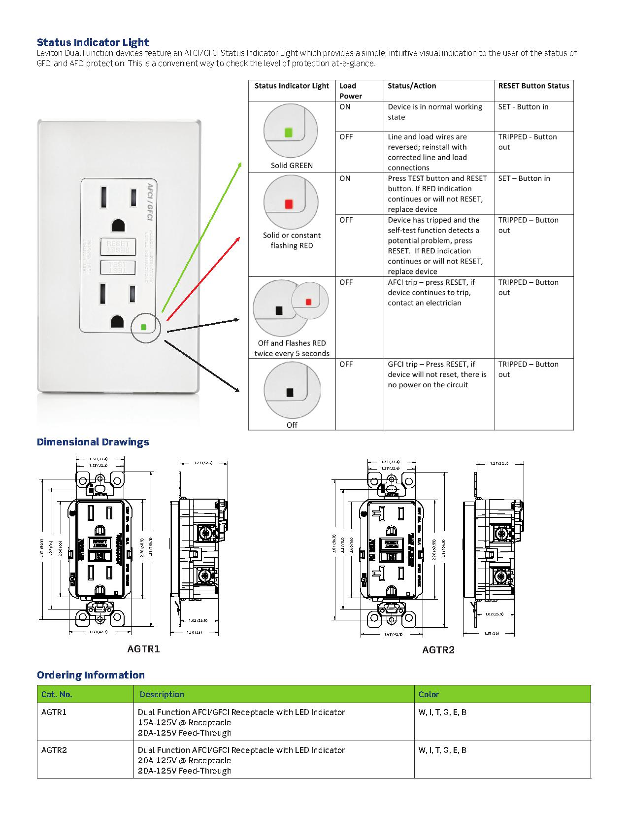 afci and gfci wiring diagram
